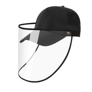 Transparent Protective Mask Plastic Anti-fog Saliva Fashion Motorcycle Baseball Cap