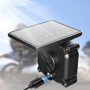 Solar Tire Pressure Monitor TPMS System with External Sensors For Motorcycle