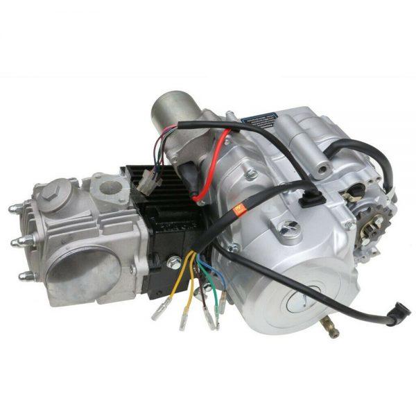125cc Engine Motor Kit Semi Auto 3 Speed + Reverse ATV Quad Go Kart 4 Wheeler