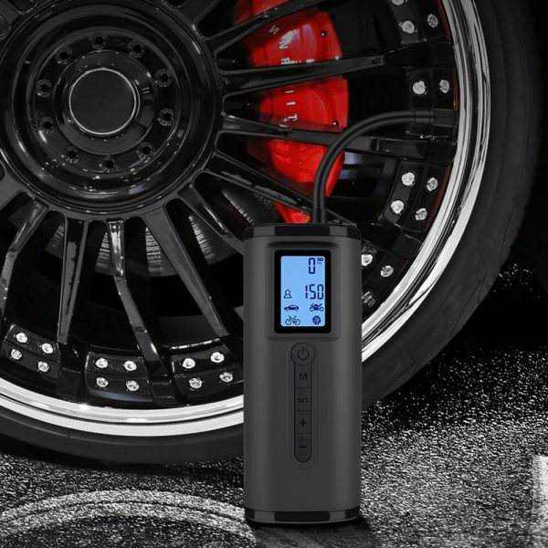NEWO 150PSI 2000mAh Cordless LED Electric Air Pump Digital Power Bank Tyre Inflator For Motorcycle Car Auto Bicycle