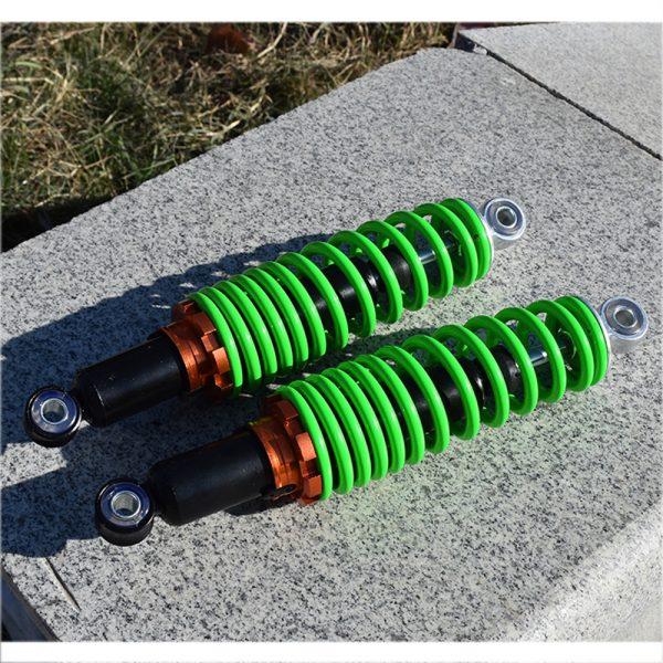 2PCS 25cm/27cm Motorcycle Rear Adjust Damping Shock Absorber For Honda/Yamaha/Kawasaki/Suzuki Universal