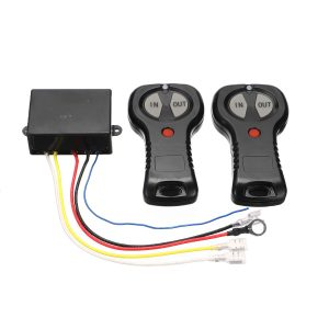 12V Wireless Winch Remote Control Twin Handset For Off-Road Car Truck ATV SUV