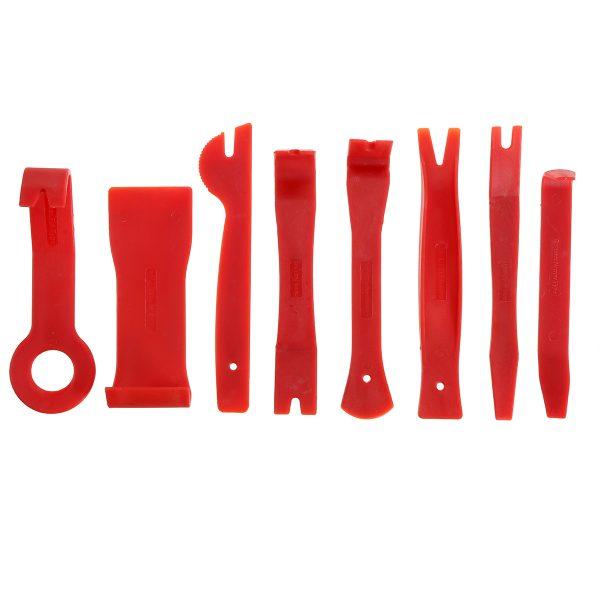 19Pcs Trim Removal Pry Tool Molding Kit Panel Door Dash Interior Clip Set