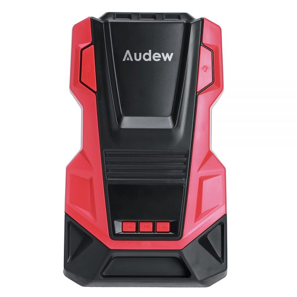 AUDEW AC/DC Portable Digital Air Pump Tire Inflator Air Compressor with Automatic Display For Car Bicycle Motorcycle Basketball Pool Toys