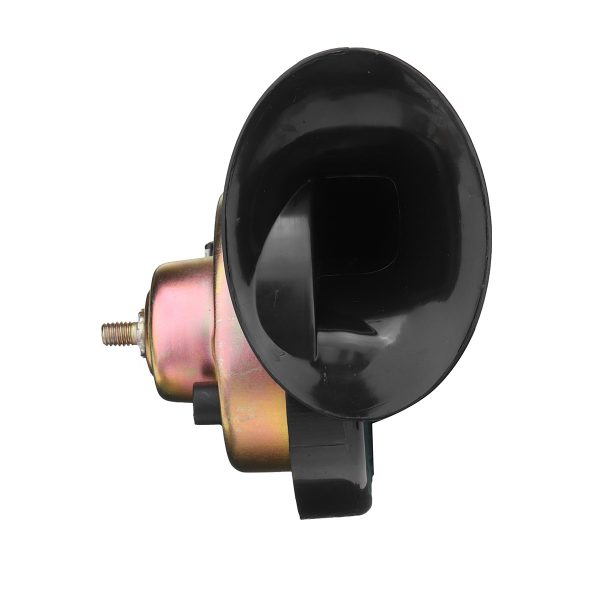 12V 300DB Black High Pitch Electric Snail Horn with Mounting Bracket Accessories