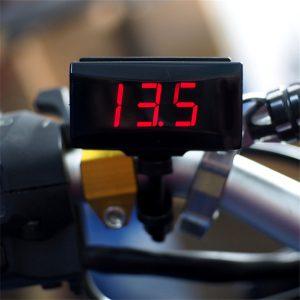12V-24V Water Temperature Gauge Digital LED with Sensor Universial for Car Motorcycle