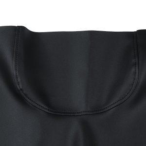 2pcs Front Seat Cover Skin Set PU Leather Black For Golf Cart Custom E-Z-Go TXT