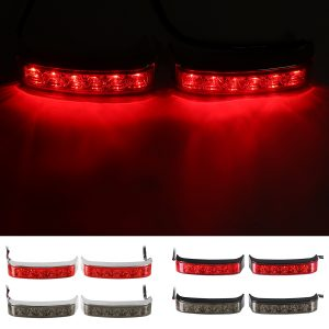 Motorcycle LED Saddlebag Running Brake Turn Light Run Brake Lamp Modified Side Box Lights
