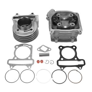69mm Big Bore Cylinder Head Rebuild Kit For 139QMB GY6 50cc 60cc 100cc Scooter