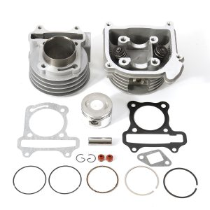 50cc GY6 139QMB 100cc 64mm Big Bore Head Piston Rings Cylinder Kit For Chinese Scooter