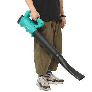 2-in-1 680W 20000RPM Cordless Garden Leaf Blower Electric Air Vacuum Dust Body For Makita 18V