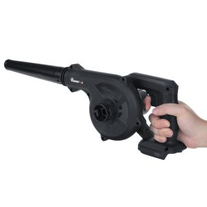 2 In 1 880W 18000RPM Cordless Electric Air Blower Vacuum Dust Leaf Garden Car with 2 batteries