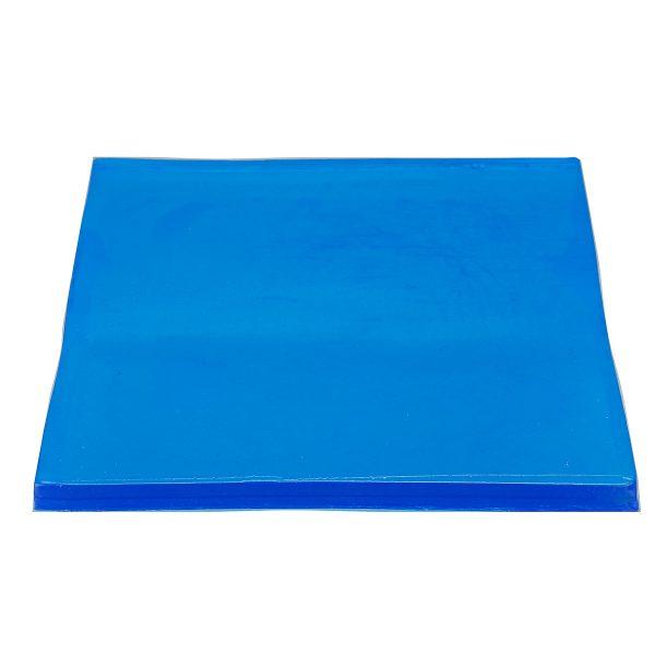 2cm Motorcycle Seat Gel Cool Pad Shock Absorption Mat DIY Cut Cushion Blue
