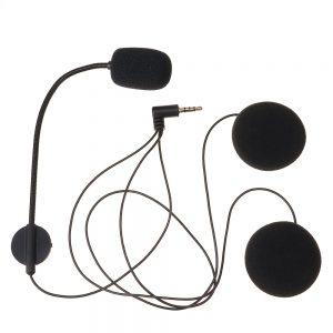 Motorcycle 2600mAh bluetooth Headset Intercom Voice Control Helmet Waterproof Wireless Headphone Speaker Hands-Free