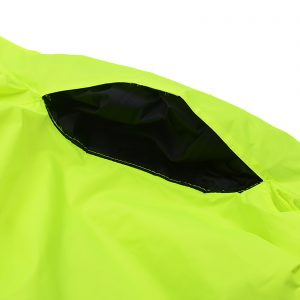 30cm Length Motorcycle Waterproof Breathable Protective Split Reflective Raincoat Suit for Cycling