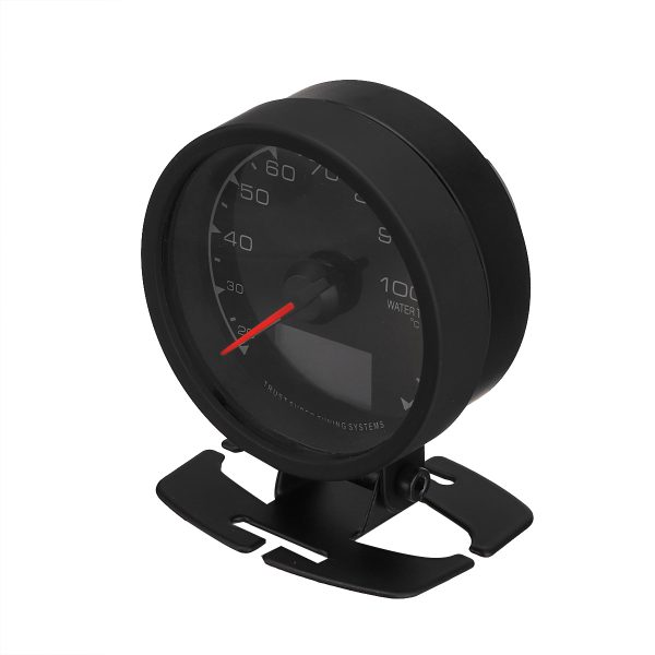 12V 2.5inch/62mm Multi LCD 7 Color LED Digital Display Water Temperature Gauge with Sensor for Vehicles
