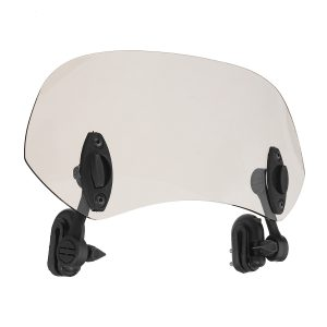 28CM Motorcycle Universal Clip On Windshield Extension Spoiler Wind Deflector