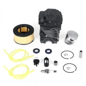 Cylinder Piston Air Filter Bulb For Stihl MS251 MS 251 44mm Chainsaw Tune-Up Kit
