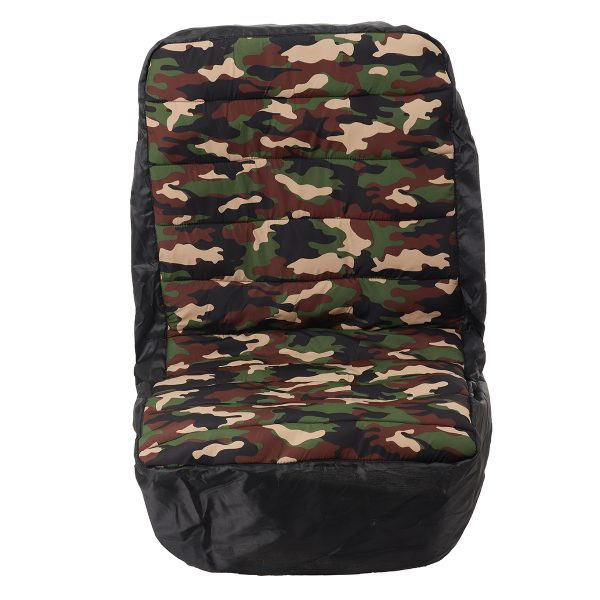 18inch Mower Tractor Seat Cover Protector Cotton Polyester Dustproof Universal for Heavy Farm Vehicle