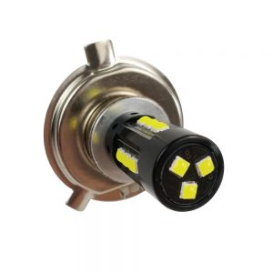 1pc 75W 1200LM Car LED Fog Light Lamps H4 Replace Bulb Highlight Waterproof