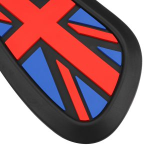 3PCS Retro Motorcycle Cafe Racer Gas Fuel tank Rubber Sticker Protector Sheath Knee Tank Pad Grip Decal