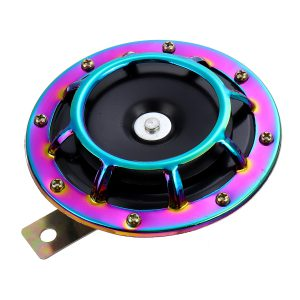 12V Electric Air Tone Horn 139-170dB High Tone Metal Horns for Car Motorcycle