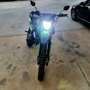 12V H4 40W 6500K 4000LM Motorcycle Headlight LED Bulb PK43T Motorbike Headlamp High Low Beam IP68 Waterproof Replace Bulbs