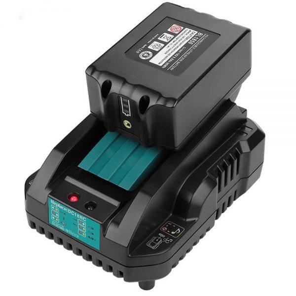 14.4V 18V Li-Ion Battery Charger 4A Charging Current For Makita DC18RC BL1830 BL1430 Power Tool Battery EU/US/AU/UK/JP/CN Plug