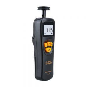 AR925 Digital Tachometer Rotational Speed Meter Contact Motor RPM Meter Gauge Tach Speedometer LCD Display