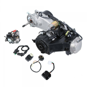 GY6 125CC 150CC Single Cylinder 4 Stroke Engine Scooter ATV Go Kart Moped Motor CVT Engine Set