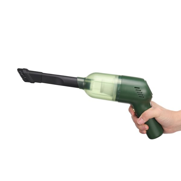 120W Cordless Car Vacuum Cleaner 8000Pa Vacuum Suction Mini Handheld Cleaner for Auto Household Pet Dog Wool Cleaning