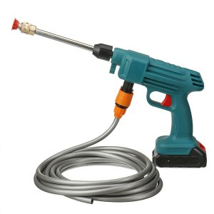 24V 200W High Pressure Cordless Washer Car Wash Pressure Water Nozzle Cleaning Machine Rechargeable
