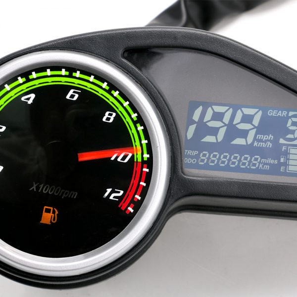 LCD Odometer Water Temperature Meter Temperature Oil Motorcycle Universal Modified Speed Quantity Dial Accessories