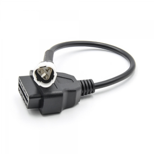 3 Pin OBD Connector Diagnostic Cable Adaptor Accessory For Yamaha Motorcycle