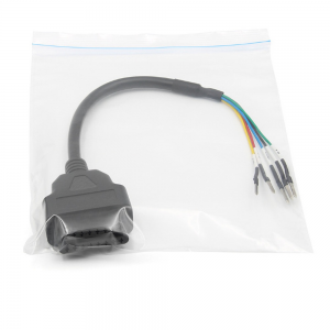 16 pin K+CAN Universal Cable OBD Female K Line Can Line Jumper Tester Accessory for Motorcycle Car Truck