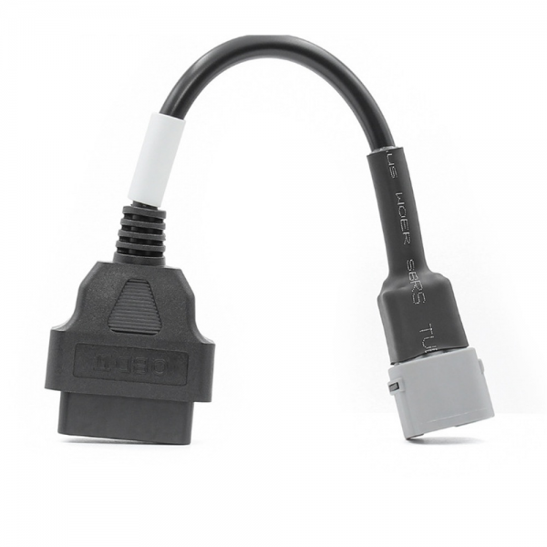 6 Pin OBD Connector Diagnostic Cable Adaptor Motorcycle Accessory For Suzuki