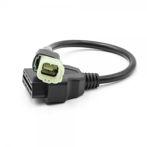 16pin to 4pin OBD Connector Diagnostic Cable Adaptor Motorcycle Accessory For Honda