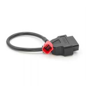 16pin to 6pin OBD Connector Diagnostic Cable Adaptor Motorcycle Accessory For Honda