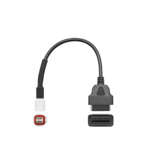 4 Pin OBD Connector Diagnostic Cable Adaptor Motorcycle Accessory For Yamaha