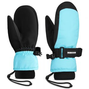 Children Skiing Gloves Waterproof Kids Snowboarding Child Hiking Outdoor Winter Sports