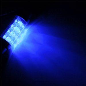 12V Car LED Dome Interior Lights Bulbs Map Door Light Bulb Lamps Blue Universal