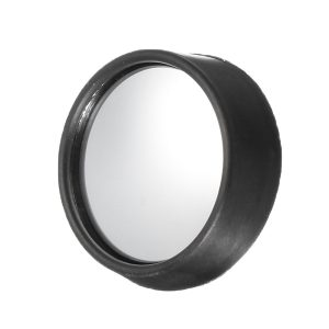 Two Small Raised Face Round 360 Degrees Mirror Rotatable Widen Sight