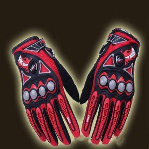 Full Finger Safety Bike Motorcycle Racing Gloves for Pro-biker MCS23
