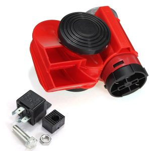 12V 136db Air Horn Snail Compact for Car Truck Vehicle Motorcycle