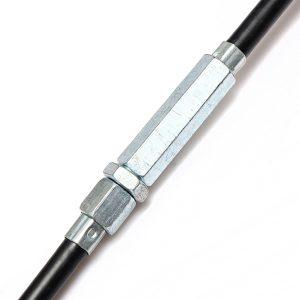 Pit Dirt Stroke Bike Adjustable Clutch Cable 110cc 125cc 140cc Black