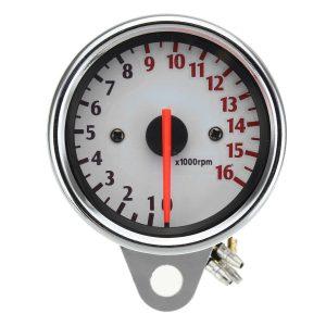 12V 16000RPM Motorcycle Tachometer Gauge Mechanica Universal