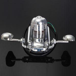 Skull Motorcycle ATV Rear Taillight Turn Signal Brake Plate