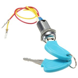 Ignition Switch Keys Lock for Motorcycle Electric Scooters Bike