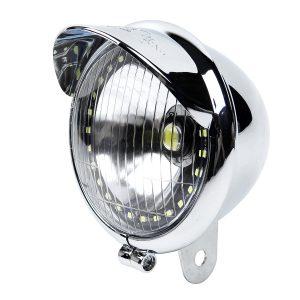 5W Motorcycle Angel Eye Fog Headlight Lamp For Harley