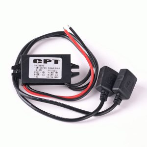 12V to 5V 15W Dual USB Power Charger Adapter Converter For Moible Phone